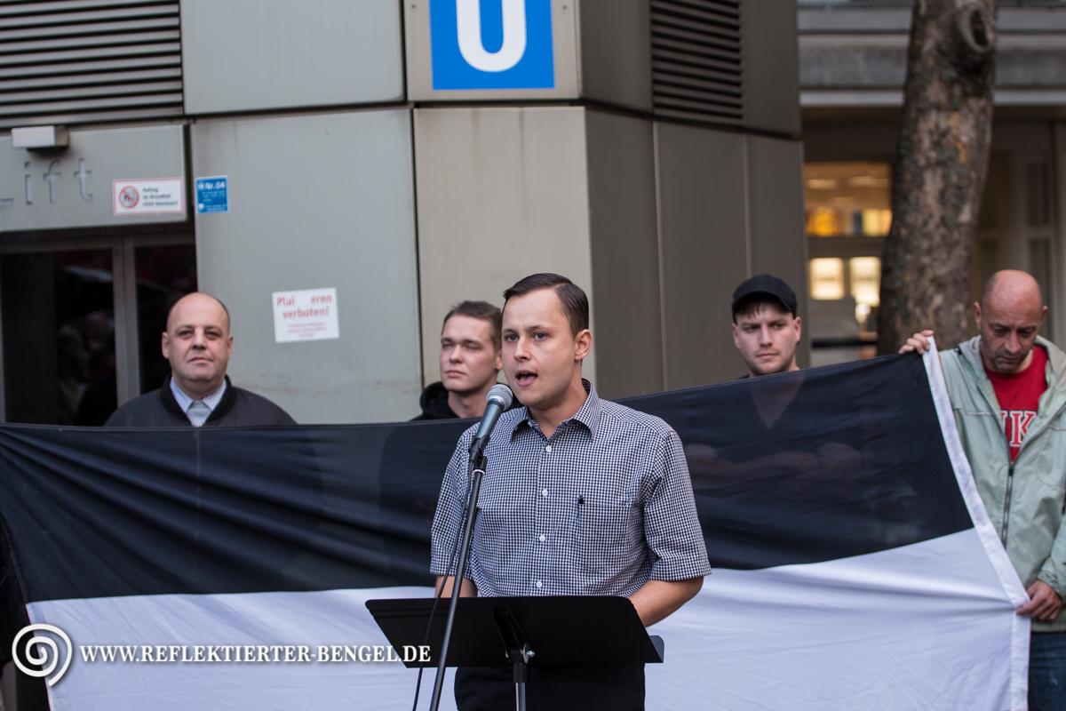 19.09.15 München - Die Rechte Kundgebung, Philipp Hasselbach