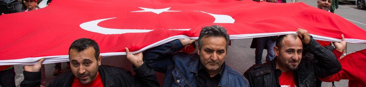 Türkische Nationalist*innen ziehen durch München