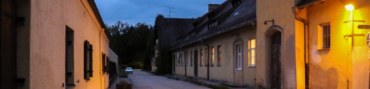 Flüchtlinge in altem KZ Kräutergarten untergebracht