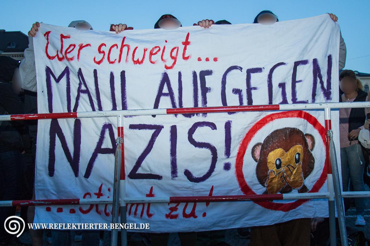 Pegida München Gegendemonstranten