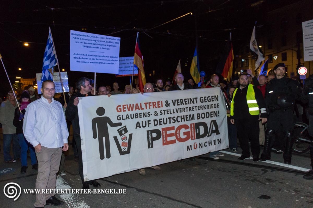 27.09.15 München - Pegida München