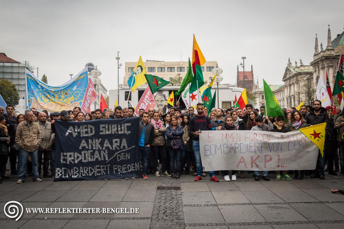10.10.15 München - Gedenken an die Anschlagsopfer in Ankara