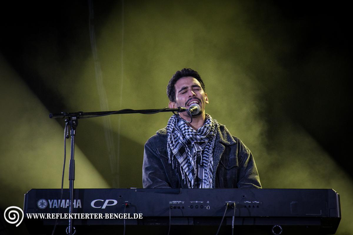 11.10.15 München - Konzert: Wir Stimmen für geflüchtete Aeham Ahmadauf
