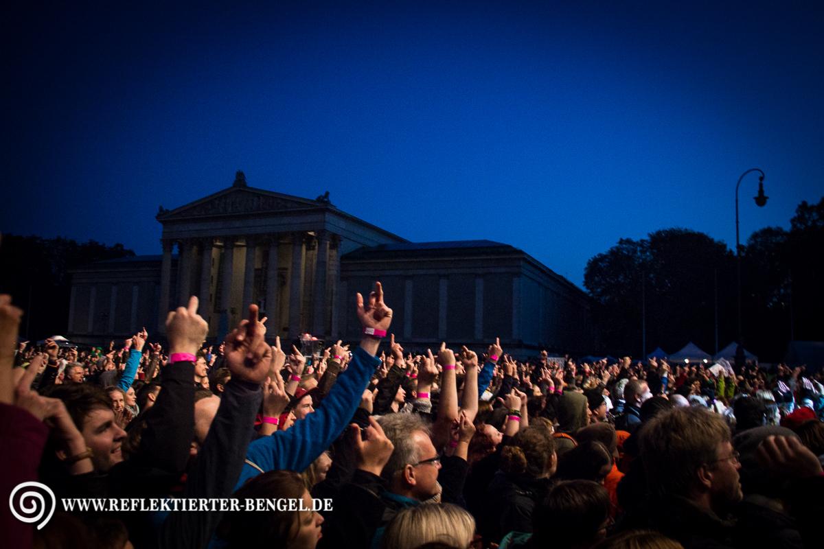 11.10.15 München - Konzert: Wir Stimmen für geflüchtete