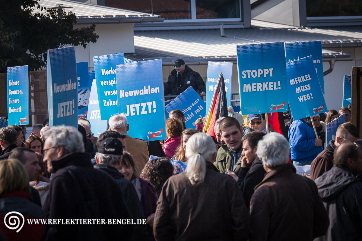 17.10.15 Freilassing - AfD Demonstration Roy Asmuß