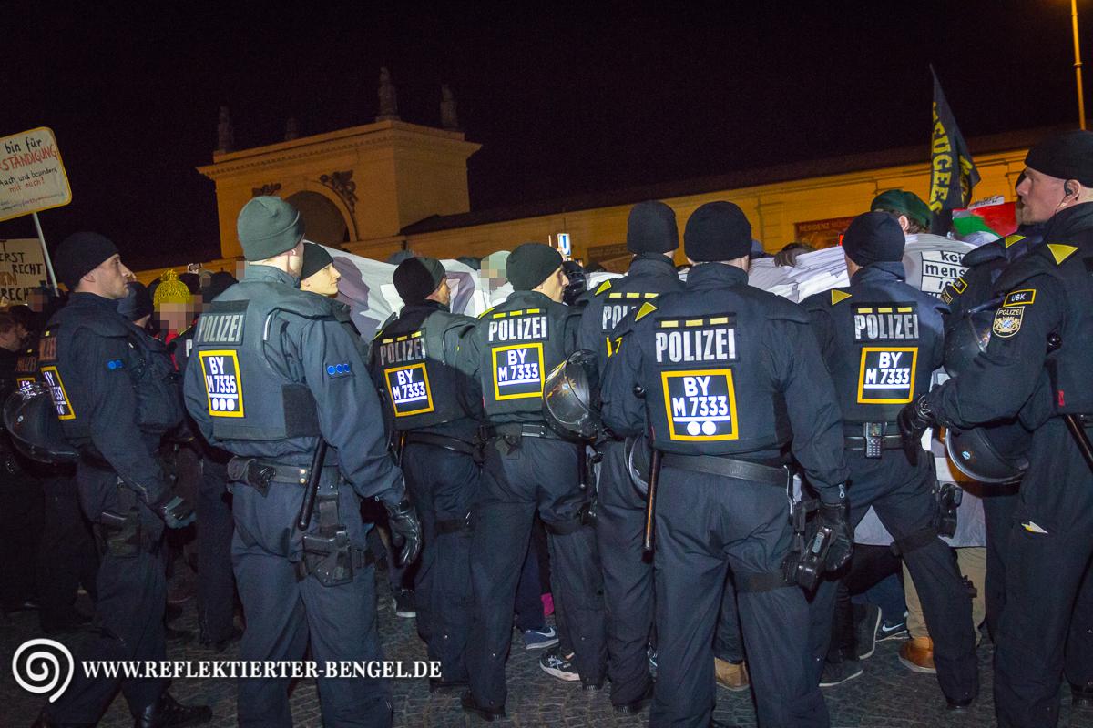Blockade Pegida München