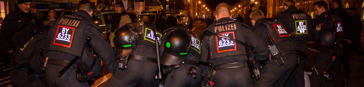 Blockaden stören Pegida München Demo