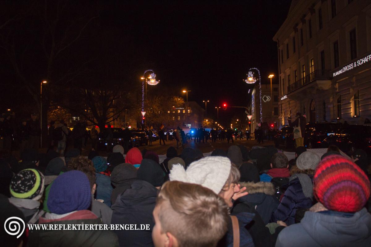 Platz der Opfer des Nationalsozialismus Pegida München