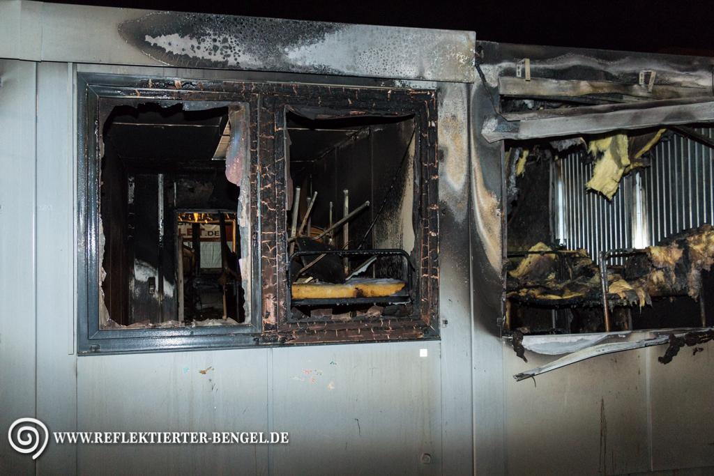 München Feuer in Feuer in Geflüchtetenunterkunft