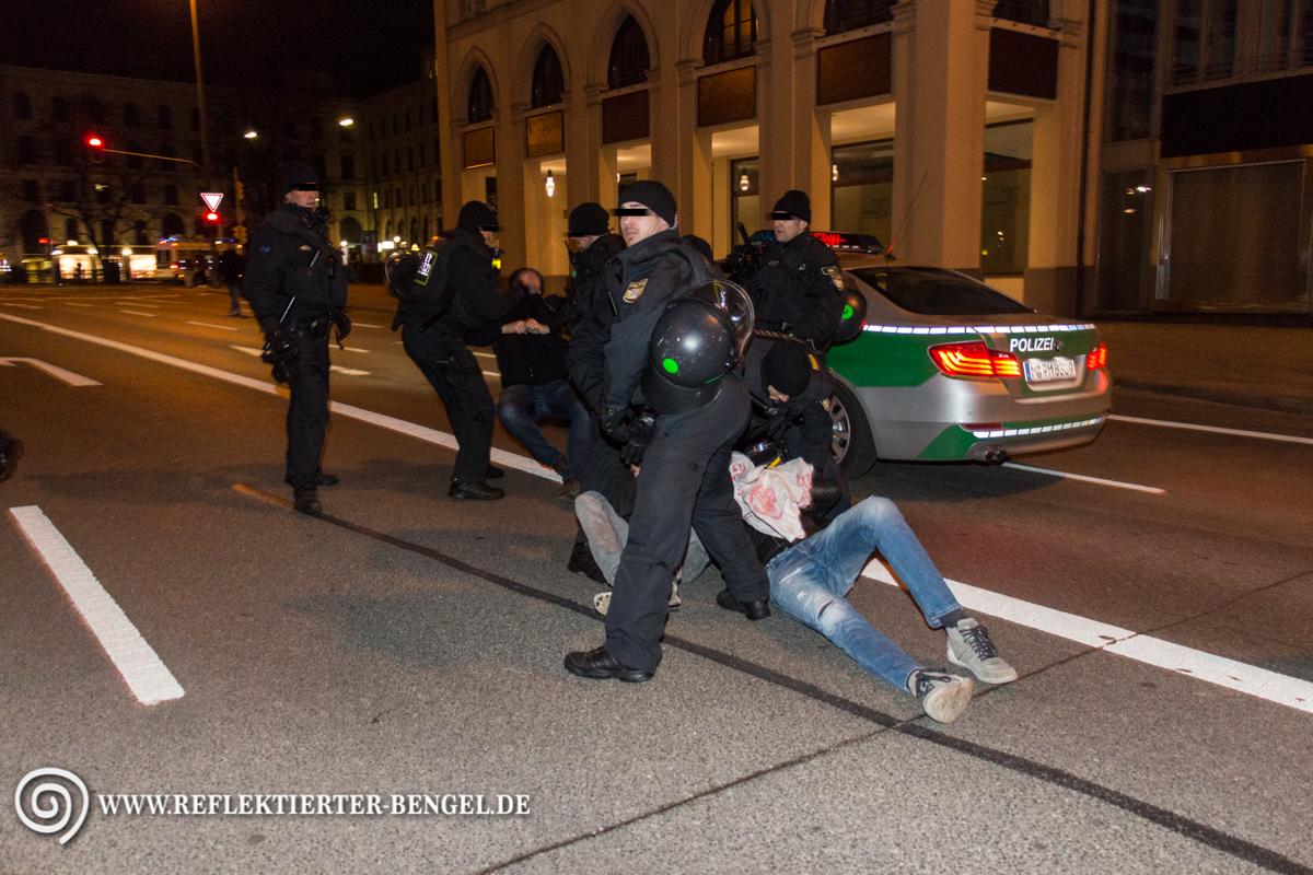 Pegida München Polizei