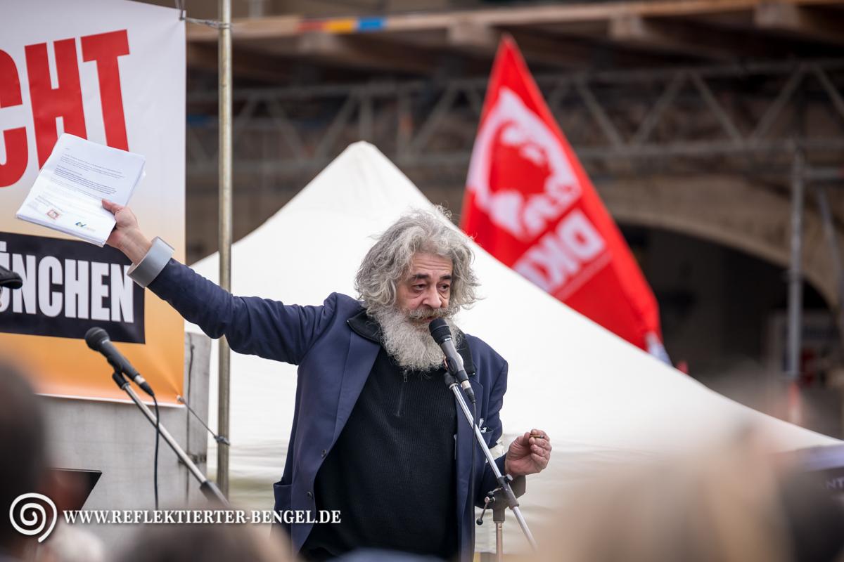 13.02.16 München - Demo gegen die Sicherheitskonferenz, Wolgang Blaschka
