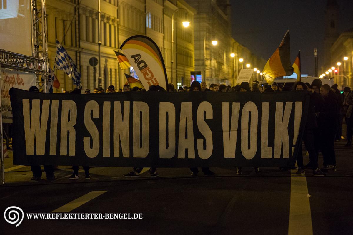 15.02.16 München - Pegida München