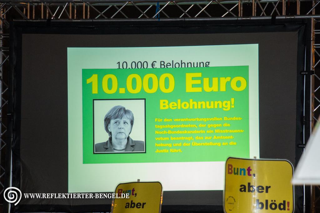 Pegida München Angela Merkel