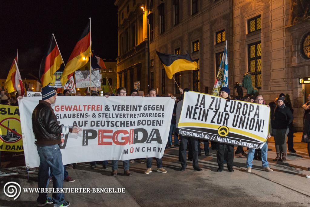 Identitäre Bewegung Pegida München