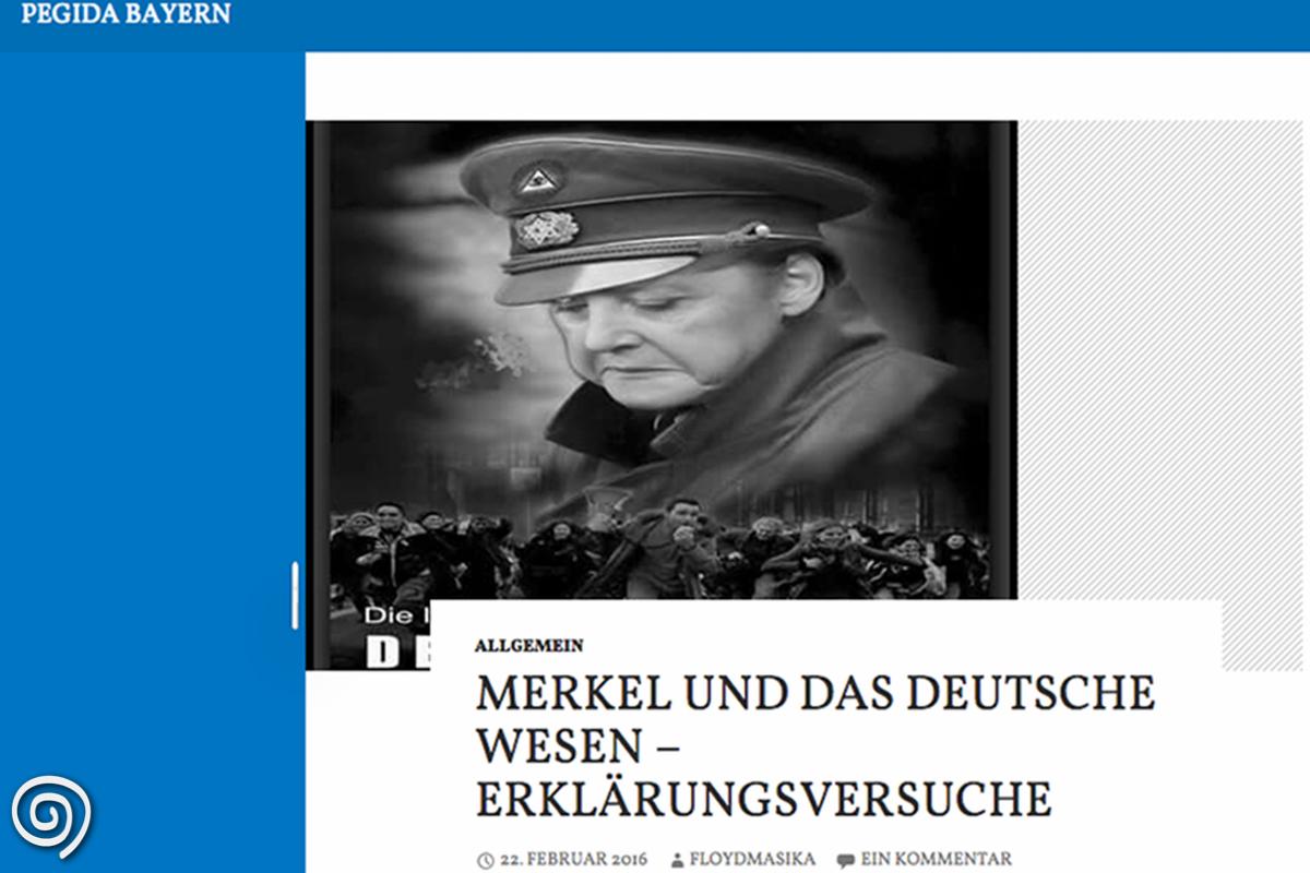 Screenshot Pegida Bayern 29.02.16