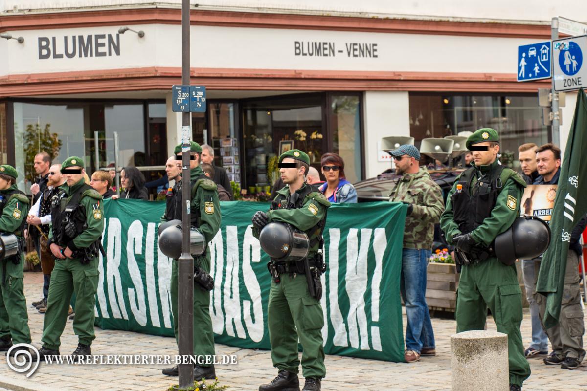 18.04.15 Freising - Der III. Weg Gedenken