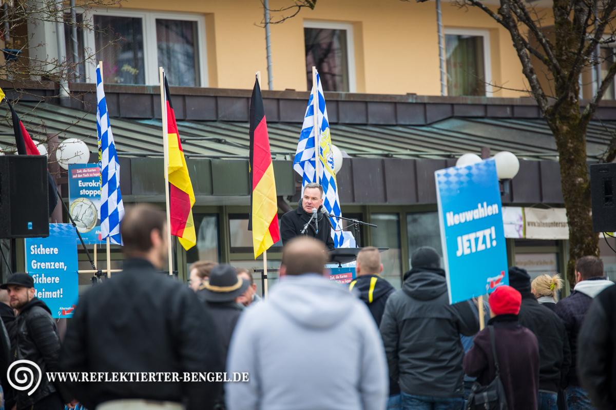 12.03.16 Geretsried - AfD Kundgebung, Heinz Simon