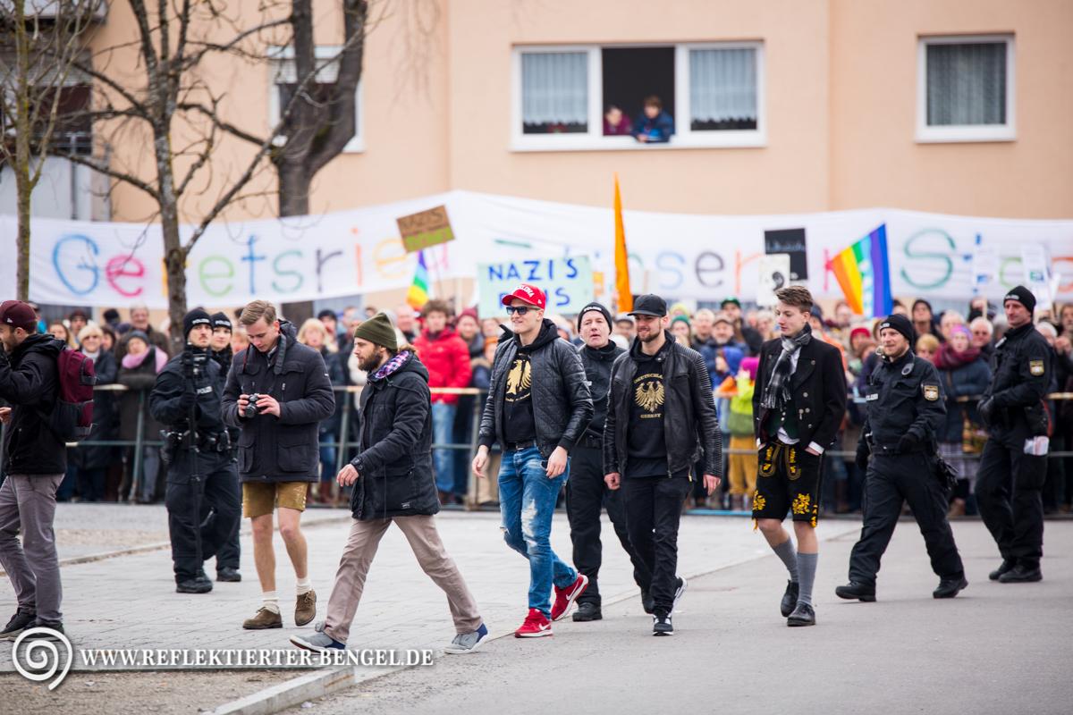 12.03.16 Geretsried - AfD Kundgebung, Chris Ares