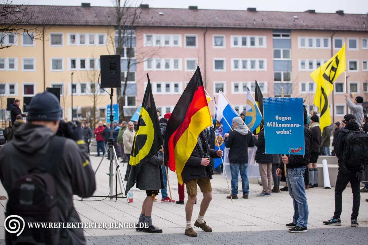 12.03.16 Geretsried - AfD Kundgebung