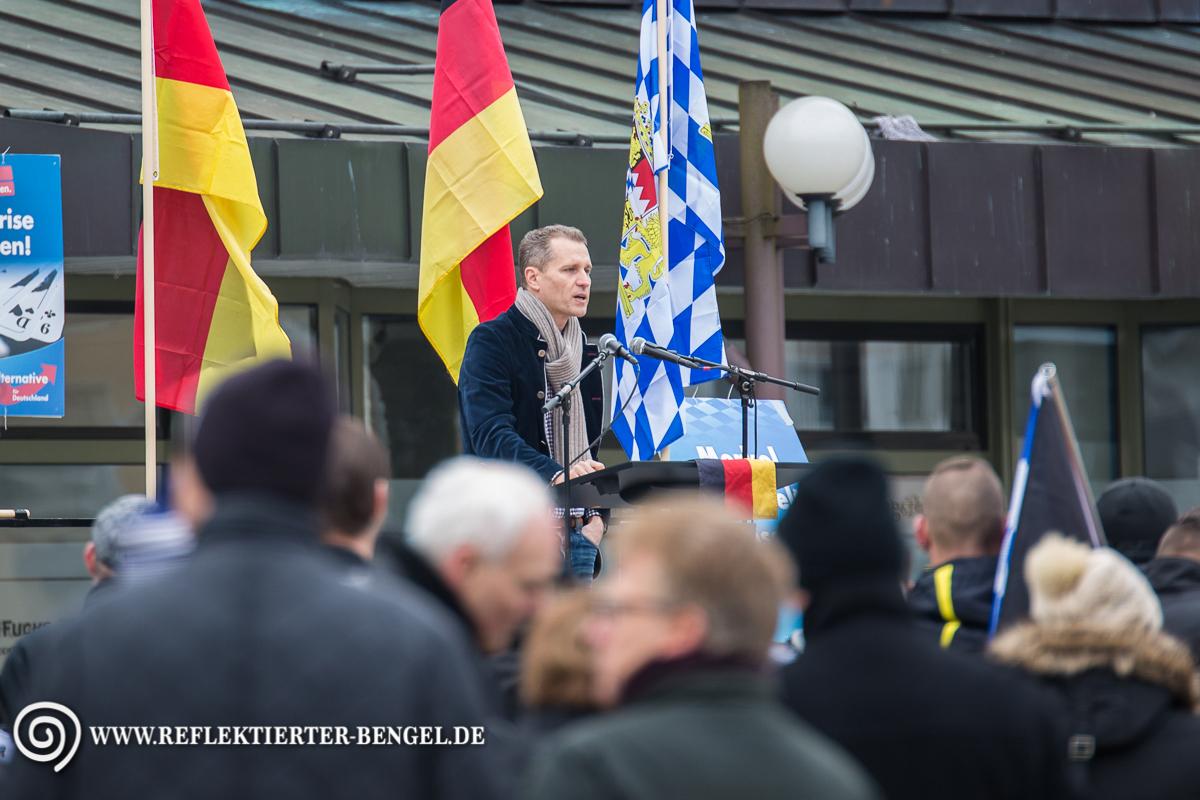 12.03.16 Geretsried - AfD Kundgebung, Petr Bystron
