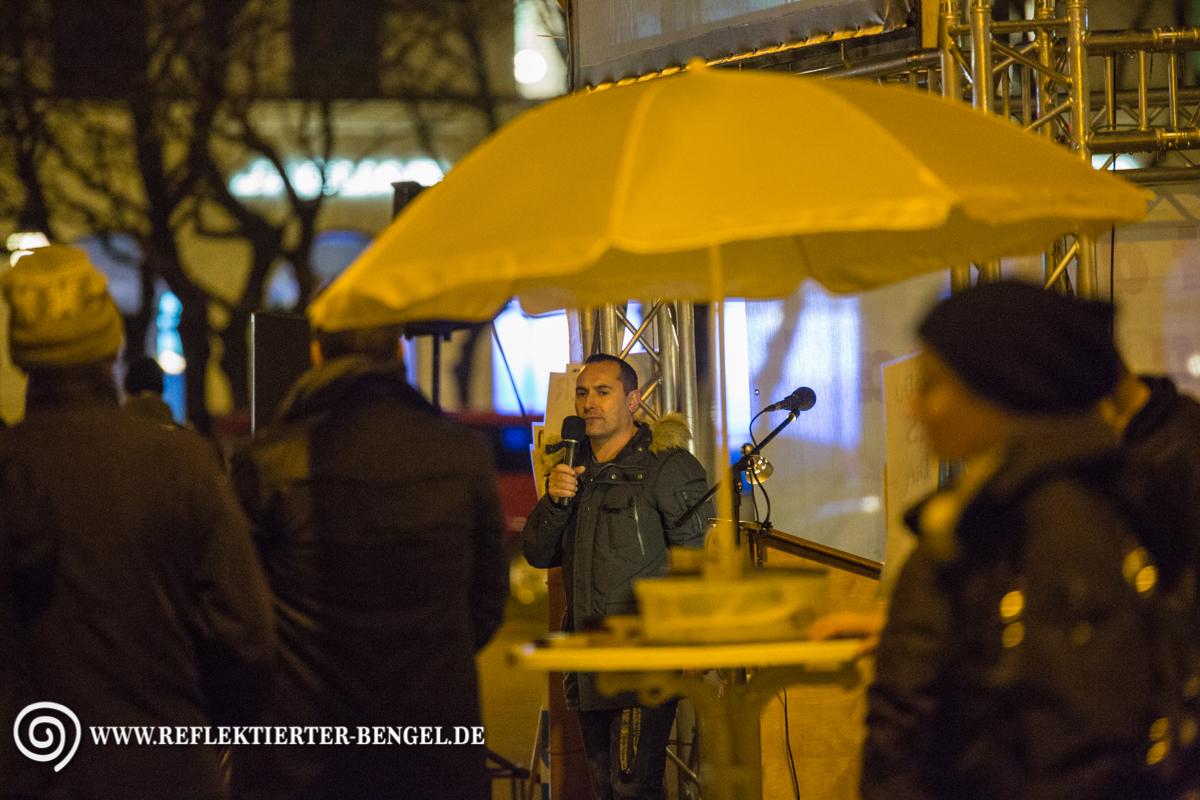 21.03.16 München - Pegida München u. Gegenproteste, Stephane Simon