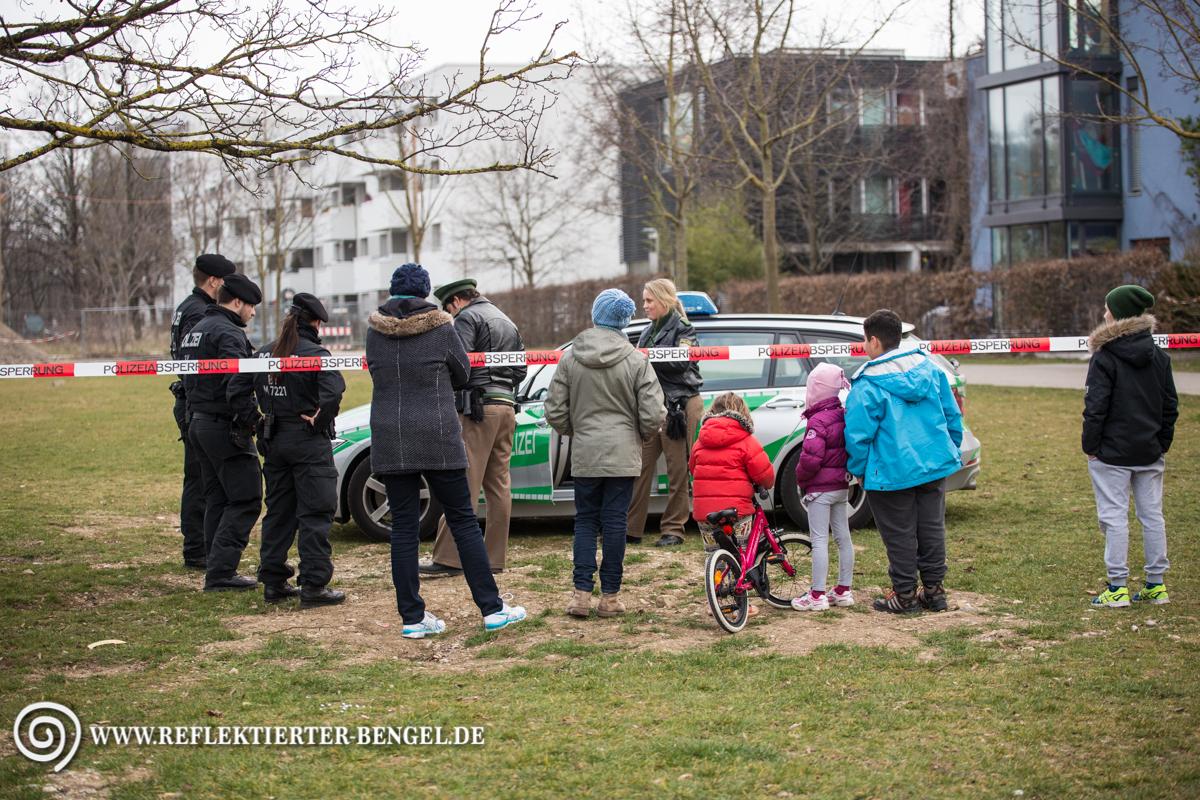 22.03.16 München - Fliegerbombe entdeckt