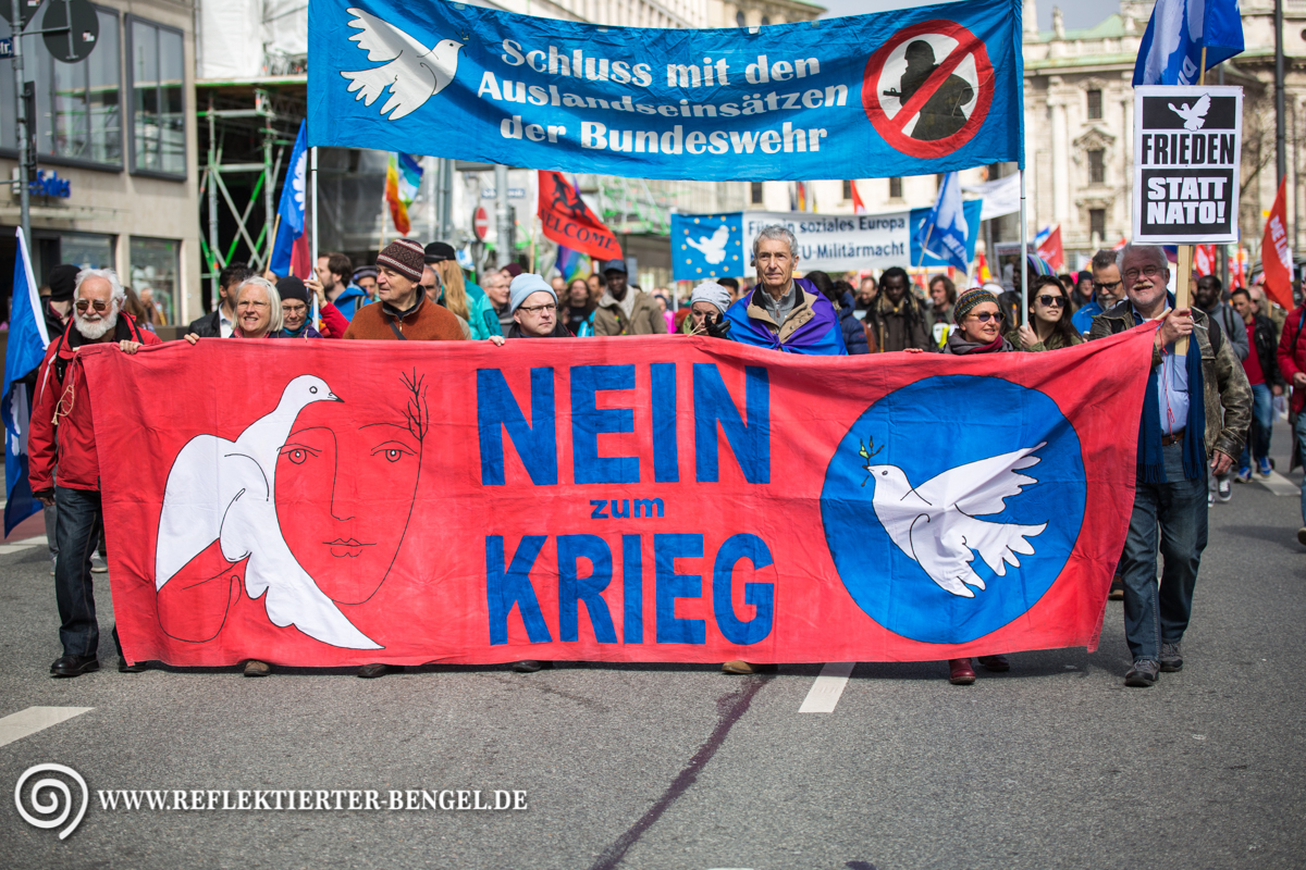 26.03.16 München - Ostermarsch