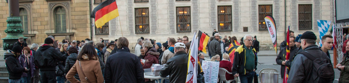 Pegida München Demonstration