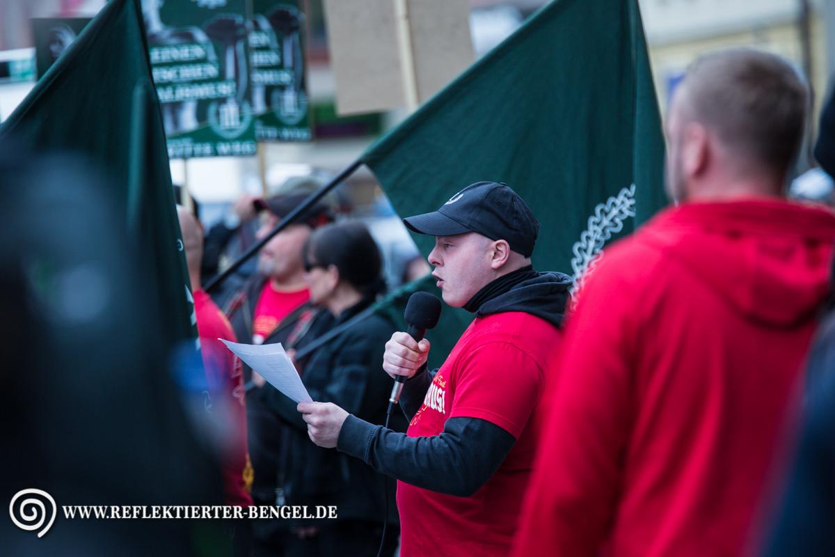 09.04.16 Ingolstadt - Der III. Weg Demonstration, Karl-Heinz Statzberger