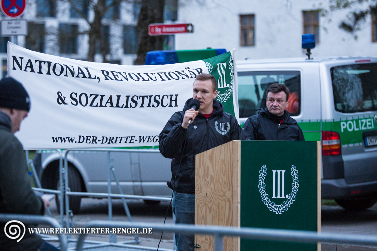 09.04.16 Ingolstadt - Der III. Weg Demonstration, Martin Bissinger