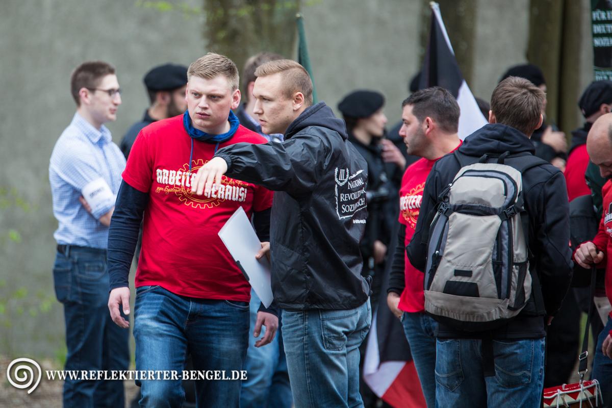 09.04.16 Ingolstadt - Der III. Weg Demonstration, Walter Strohmeier, Martin Bissinger