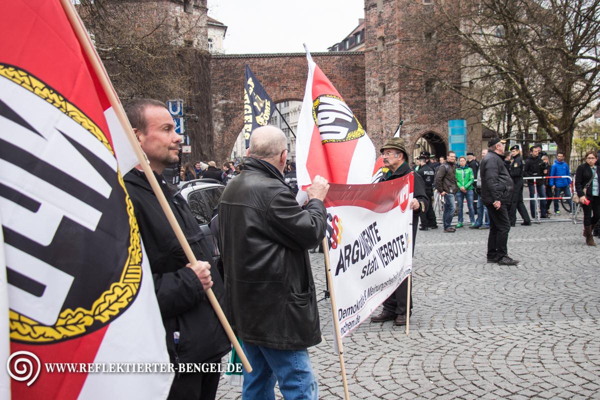 09.04.16 - München NPD Kundgebung