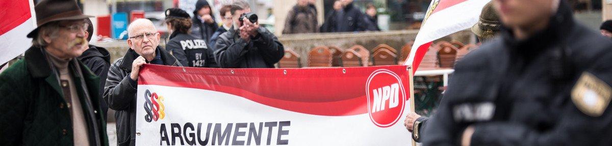 NPD Kundgebung in München