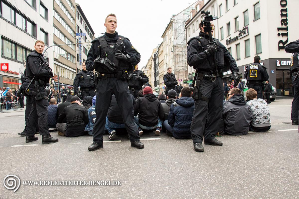 10.04.16 München - Demo Türkischer Nationalist*innen
