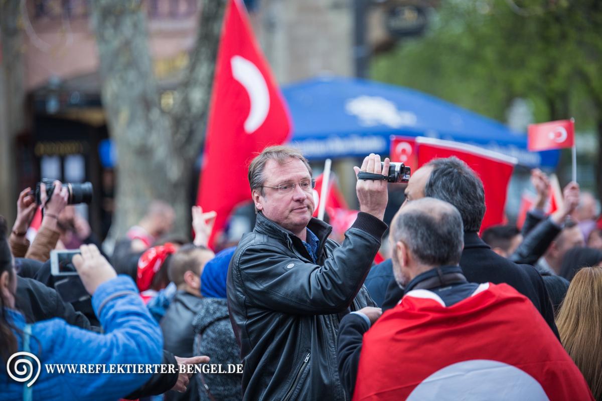 10.04.16 München - Demo Türkischer Nationalist*innen, Michael Stürzenberger