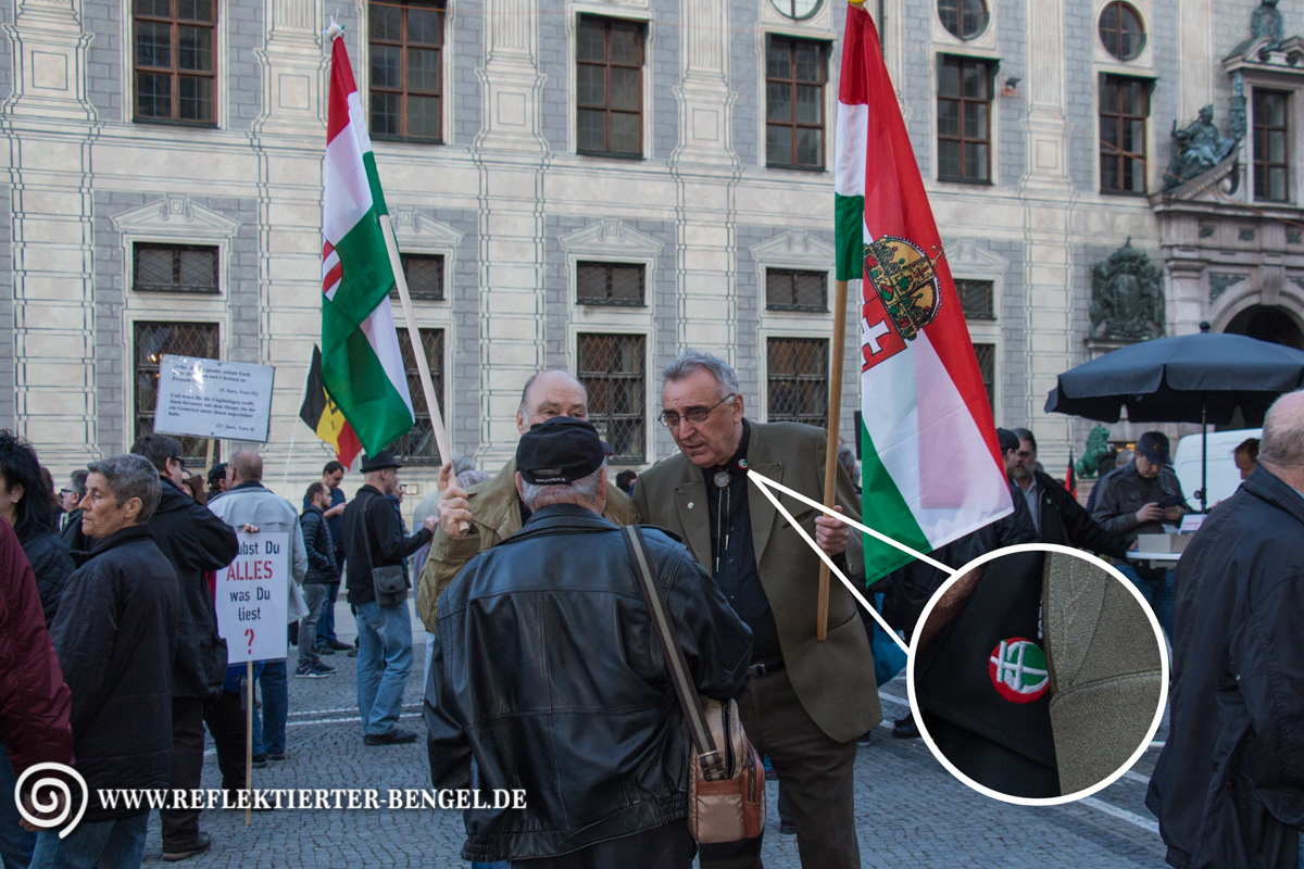 11.04.16 München - Pegida München, Mihály M.