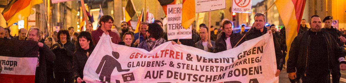 Pegida München – Sammelbecken der Extremisten