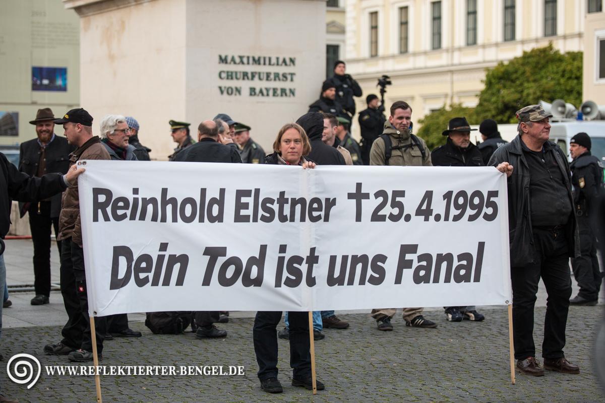 25.04.16 München - Reinhold Elstner Mahnwache