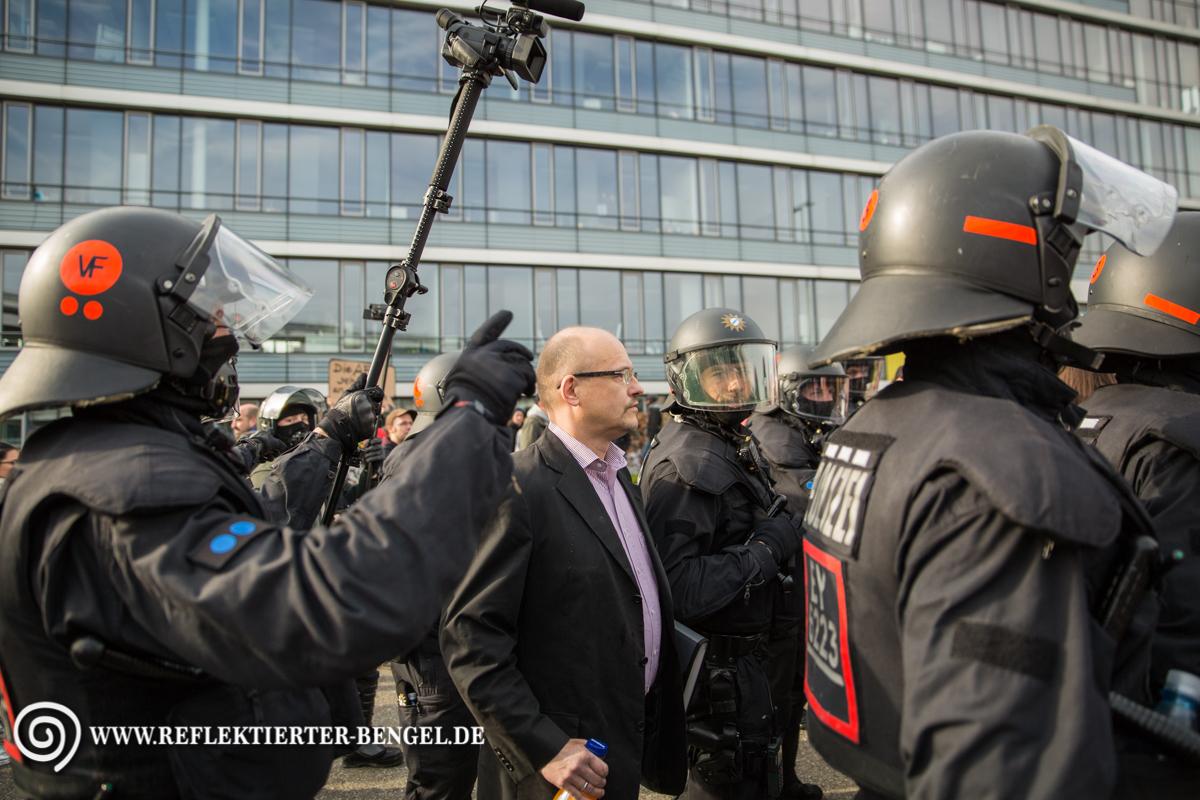 30.04.16 Stuttgart - Proteste gegen AfD Parteitag