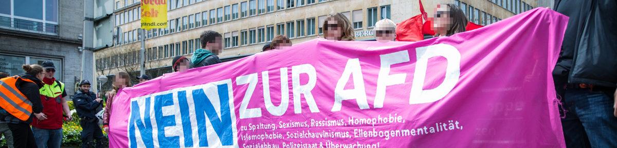 Stuttgart: Proteste gegen AfD Parteitag