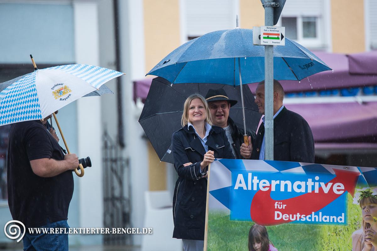 13.07.16 Wartenberg - AfD Kundgebung, Katrin Ebner-Steiner