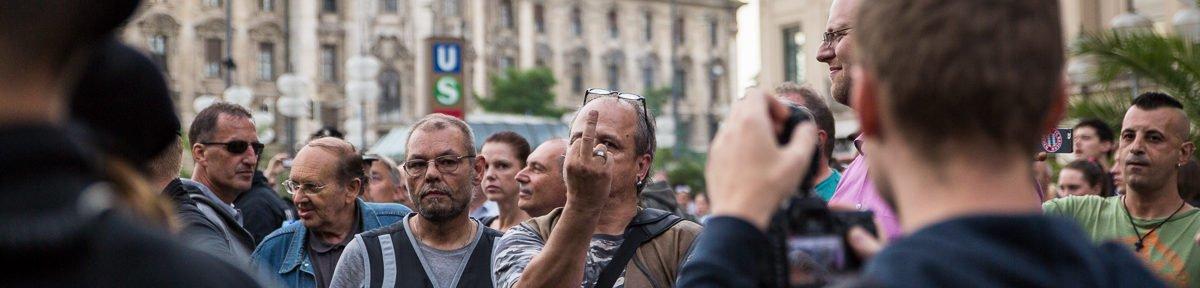 Pegida sorgt für Chaos am Stachus