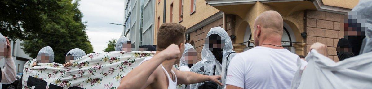 Tritte und Schläge bei AfD Wahlparty in München