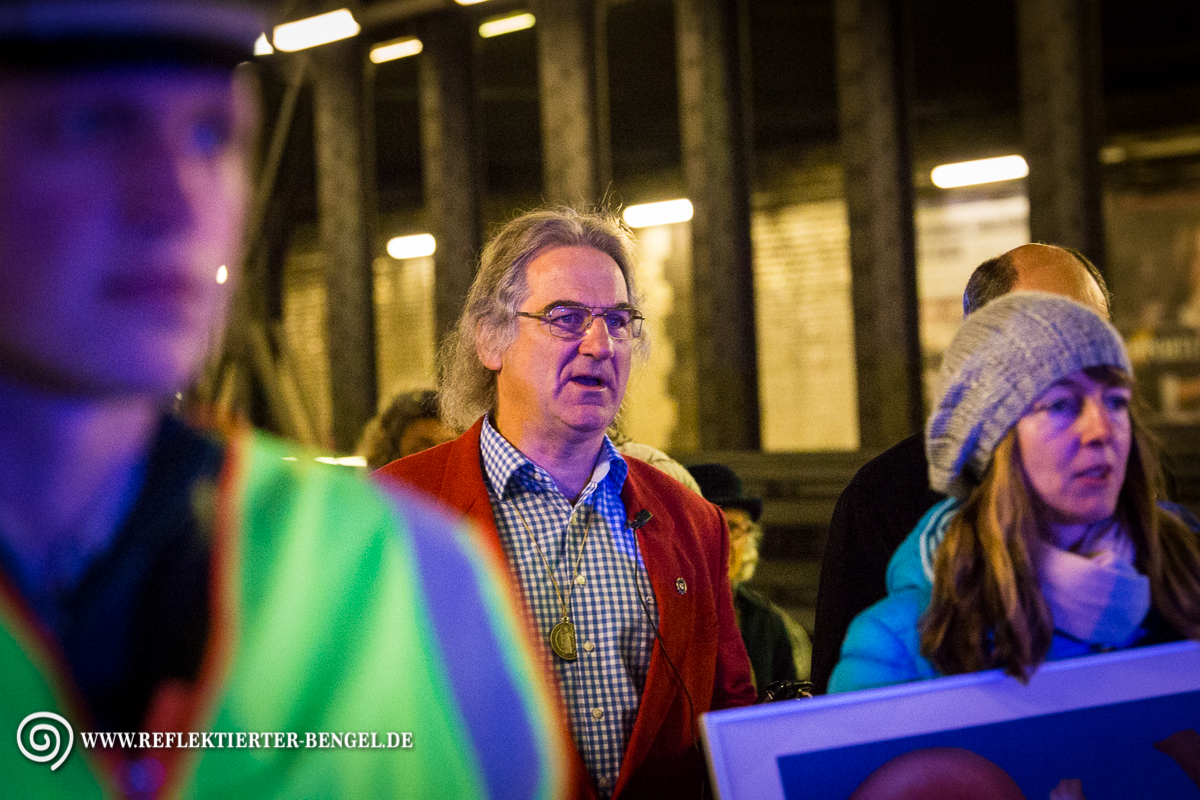 25.04.17 München - Prozession christlich fundamentalistischer Lebensschützer*innen, Wolfgang Hering