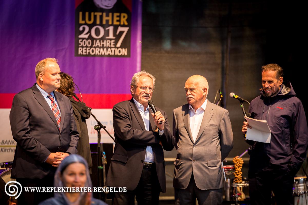 29.06.17 München - Reformationsjubiläum, Christian Ude, Peter Gauweiler