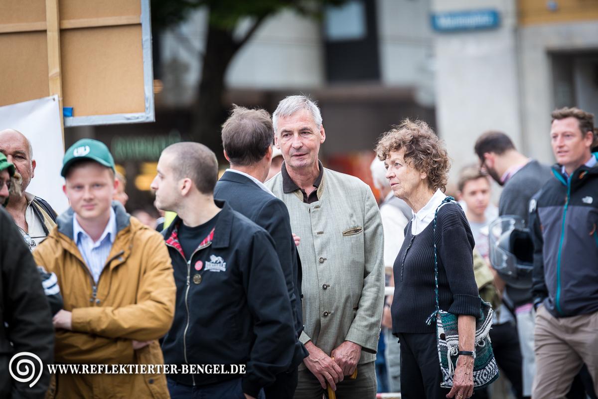 24.07.17 München - Pegida München, Roland Wuttke, Heinz Meyer