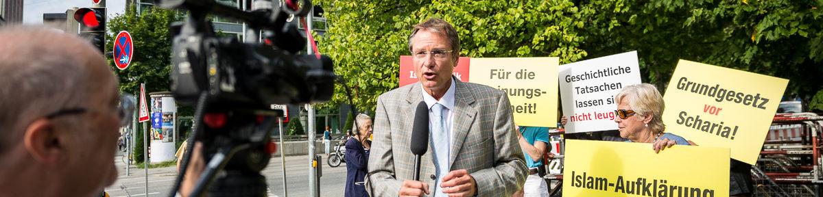 18.08.17 München - Michael Stürzenberger Gerichtsprozess