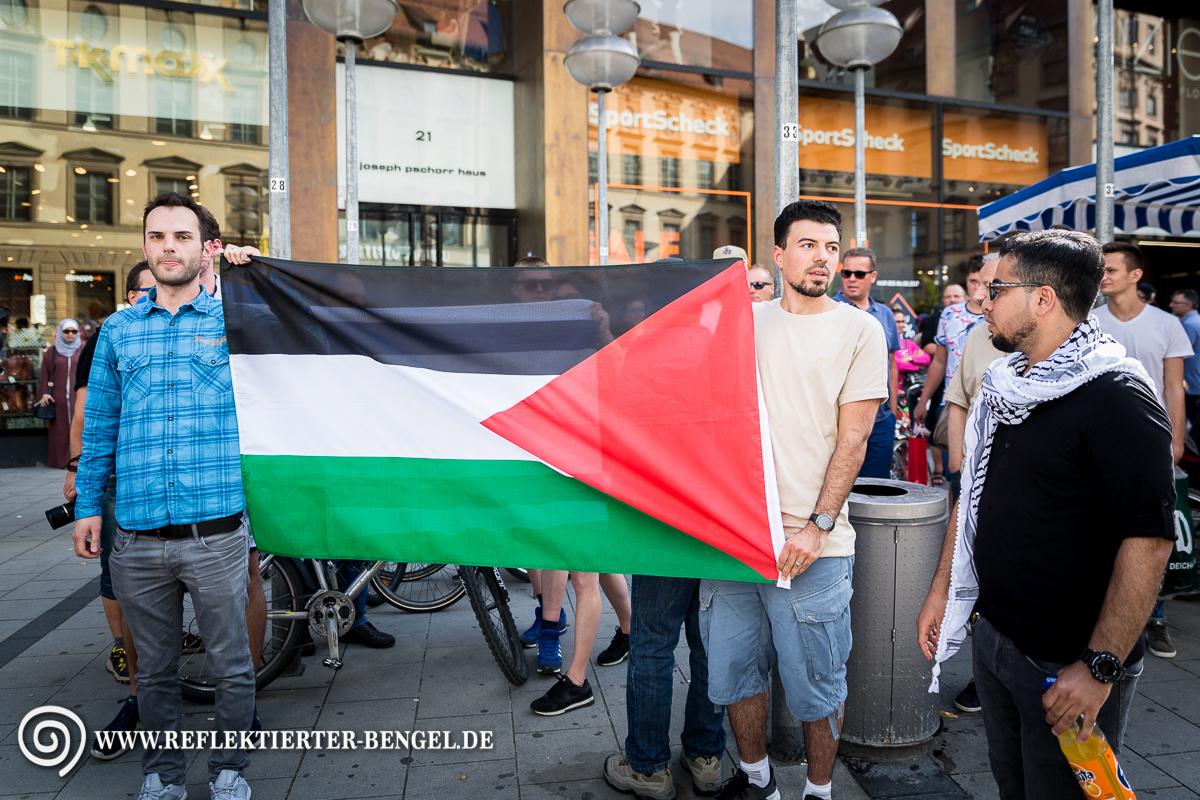 """29.07.17 München - """"Freiheit für Palästina"""" Kundgebung"""