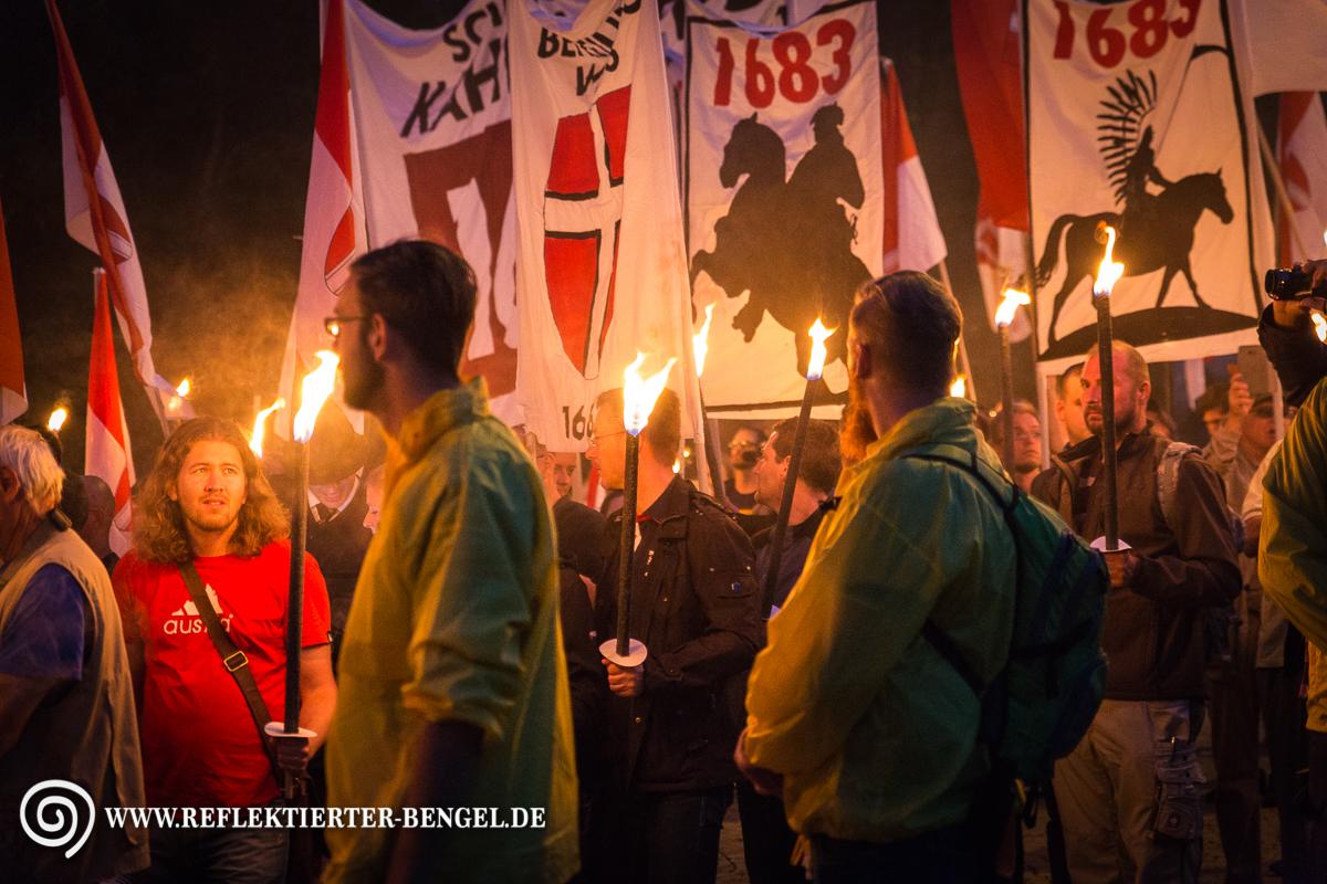 09.09.17 Wien - Identitäre Bewegung Kahlenberg