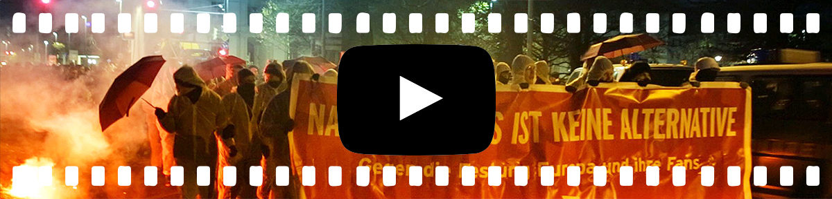Video: Proteste gegen AfD Parteitag in Hannover - Reflektierter Bengel